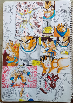 Le prince des Saiyens by AbdoulayeDIA