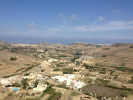 View from Citadella Gozo by Cr7NeTwOrK