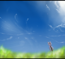 Open up the Skies (600+ Watchers drawing) by SimplyMisty