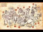 Chinese Zodiac_Wallpaper by FranciscoETCHART