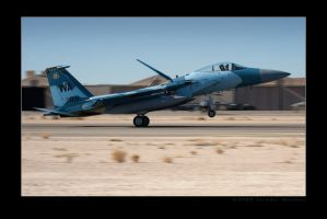 F-15 Aggressor Rollout by jdmimages