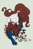 100 Themes - Fuu Dog Adopt - Adopted by Feralx1