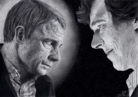 The Reichenbach Fall by ISG-Art