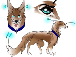 Fantasy wolf Adopt CLOSED by TranquilityBlue