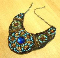 Bib necklace by AniDandelion