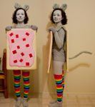 Nyan Cat Costume by HomelessCat