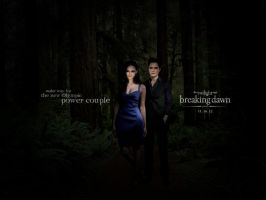 Breaking Dawn Power Couple by TheSearchingEyes