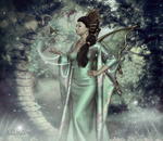Jade Green Empress by AelarethElennar