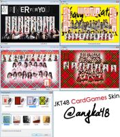 JKT48 Trump Card Games Skin Download by SaintOfArt