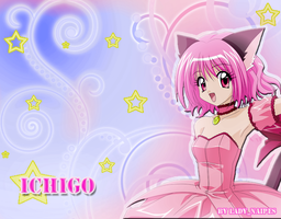Wallpaper Ichigo New New by LadyNaipes