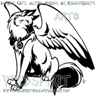 YoruRose Tattoo Commission by WildSpiritWolf