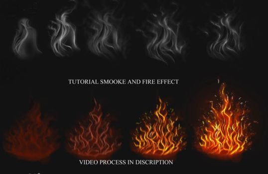 Tutorial Smoke and Fire effect by IndyMBras