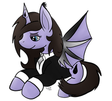 Pony Request: MonotoneInkwell by CKittyKat98