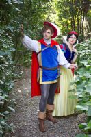 Snow white and prince Charming by lilie-morhiril