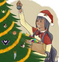 SH Secret Santa - Decorating! by Ilchymis
