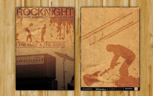 Flyer Rock Night II by DOMDESIGN