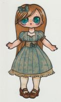 Classic Lolita paper doll no.2 by Monstrous-Teaparty
