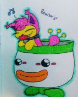 Skitty as bowser Jr. by Skitty843