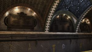 NYC City Hall Subway Station - 3D Environment by rLuuToki