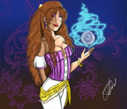 The Fortuneteller by AngelTrent