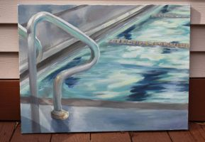 I am never painting a pool ever again by Taylor-the-Weird