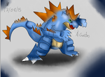 Feraligatr by KushiDreams