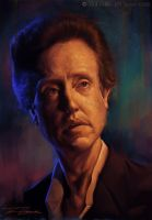 Christopher Walken by Bigboithomas84