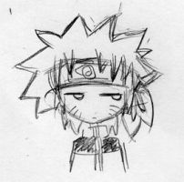 annoyed chibi Naruto by taterchan