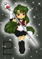 Chibi Sailor Pluto by Dawnie-chan