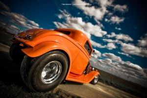 1932 Ford Hot Rod Rear by AmericanMuscle