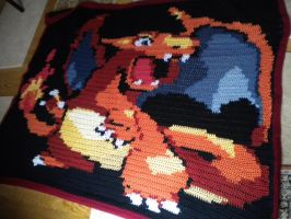 Charizard Blanket by lizzy9046