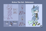 ::CM:: Ectica the Cat - Reference by LunarGems