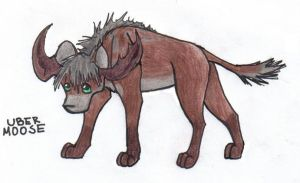 The Uber Moose by Wolf-Sis-the-Small