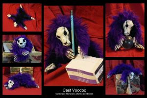 Purple Voodoo by WormsandBones