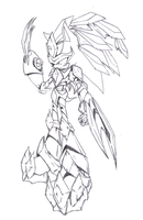 Sky Knight armor sketch by Fly-Sky-High