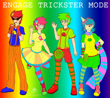 ENGAGE TRICKSTER MODE by Izzydactyl