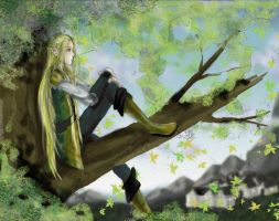 colored Legolas request by shiryuu