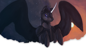 Nightmare Moon by ElkaArt