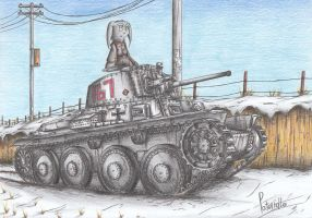 Panzer 38(t) Tank by Patoriotto