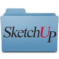 SketchUp Leopard Folder by jasonh1234