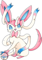 Sylveon -Color- by ChooWoo