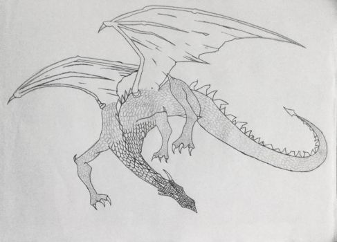Dragon- WIP by Queen-of-Ice101