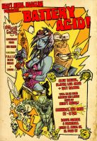 heavy metal premier flier by illustrated1