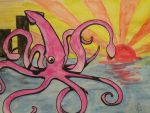 GIANT SQUID by NorthmansOatmeal