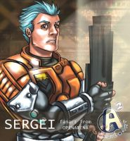 Sergei from OpenArena by Arqueart