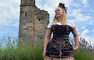 Steampunk at Tutbury Castle 2014 (6) by masimage