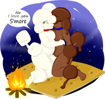 No I love you S'more by KittyCaie