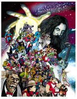 Alan Moore by BrianAW