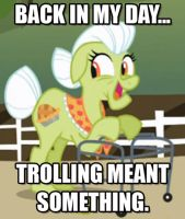Back in Granny Smith's day... by Dr-Syn