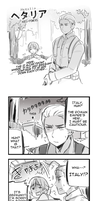 Hetalia Strip # 1 by Cioccolatodorima